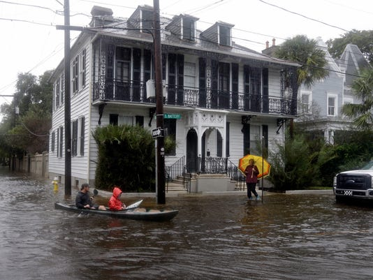 Charleston flooding