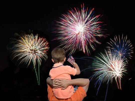 The annual Freedom Fest event at Fairmont Scottsdale Princess will feature fireworks on both Friday and Saturday night.