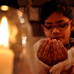 Candle vigil in Quetta, Pakistan, for the school massacre victims Tuesday.
