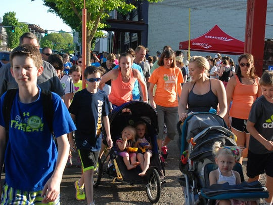 On Your Feet Friday:Run or walk to checkpoints around downtown Salem and have a chance to win prizes, 5:45-7:45 p.m. July 13, Gallagher Fitness Resources, 135 Commercial St. NE. Free.