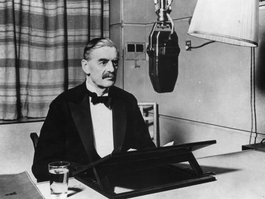 On Sept. 3, 1939, British Prime Minister Neville Chamberlain,