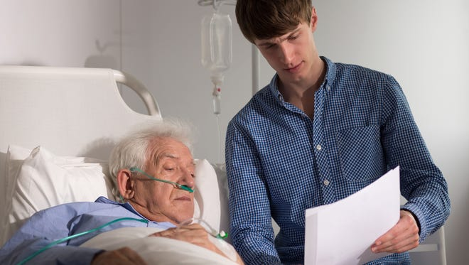 Looking ahead, it's important for seniors and their family to get their affairs regarding health care in order. This helps to ensure that in the event of a debilitating illness or injury the patient's wishes are carried out.