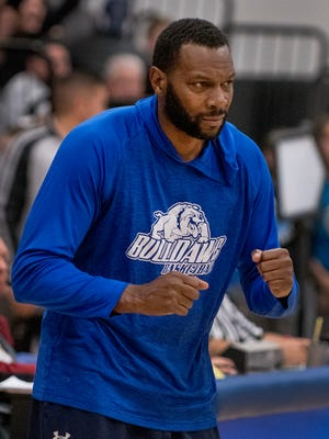 Las Cruces head basketball coach William Benjamin and the No. 2 Bulldawgs host No. 15 Sandia in the first round of the Class 6A state tournament on Saturday at 7 p.m.