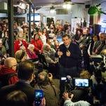 Ted Cruz campaigns in Goffstown, N.H., on Feb. 3, 2016.