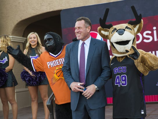 Dan Majerle, former Phoenix Suns player and current