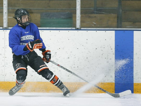 Victor's Jake Tortora, who turns 18 on July 25, is eligible for the 2017 NHL Draft. His speed, elite skating and puck skills, and toughness have allowed him to excel at every level so far.