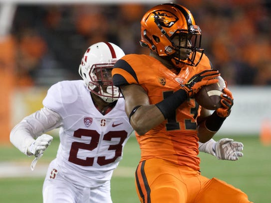OSU wide receiver Jordan Villamin is coming off a disappointing