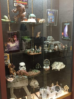 Favorite Toys of Christmas Past: Star Wars Edition at the Wayne County Historical Museum features the collection of Tanner Beaty.