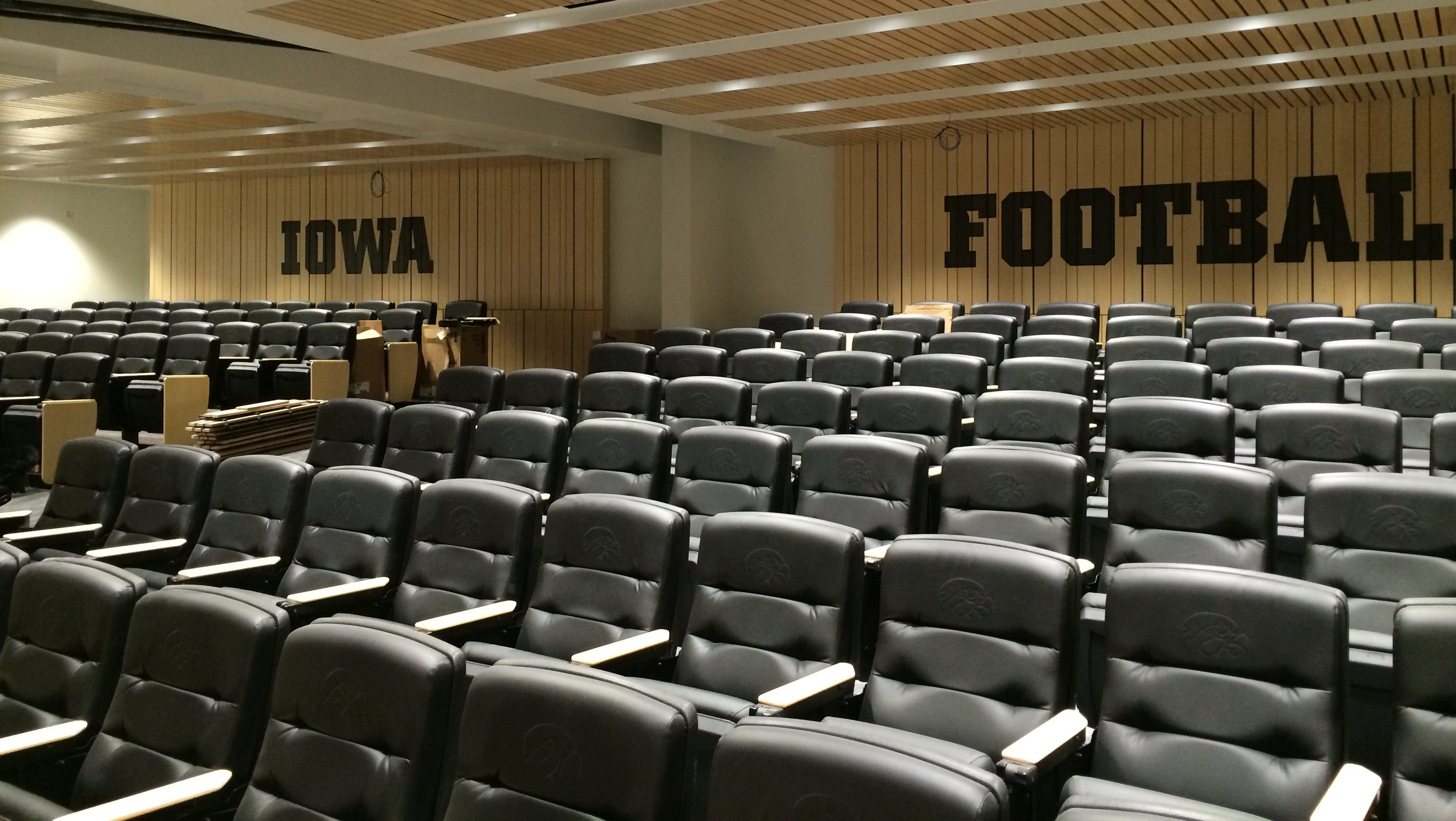 Brown Iowas Think Big Football Facility A Testament To
