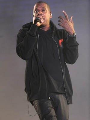 Jay-Z performs at the 3rd Global Citizen Festival at Central Park on Saturday, Sept. 27, 2014, in New York.