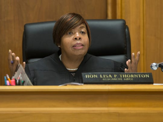 2017 file photo of Superior Court Judge Lisa P. Thornton, Monmouth County's assignment judge.