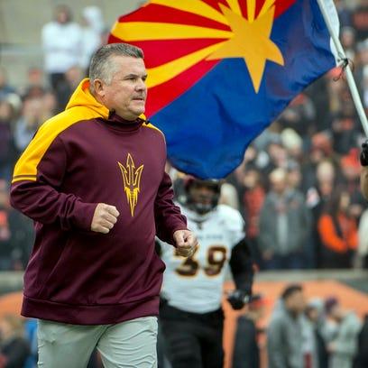 Arizona State Sun Devils head coach Todd Graham has