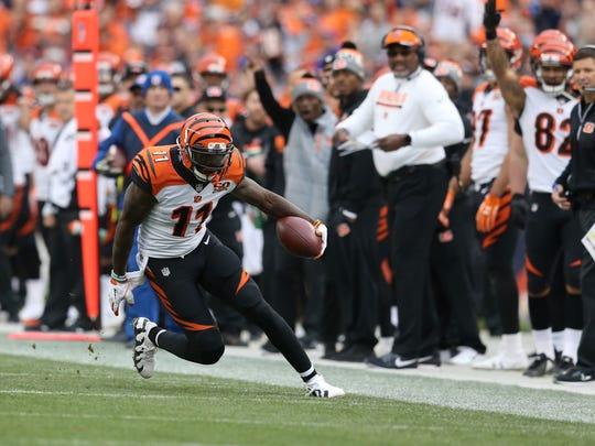 Cincinnati Bengals wide receiver Brandon LaFell (11)