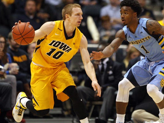 NCAA Basketball: Iowa at Marquette