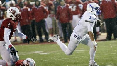 St. Xavier RB Ronnie Fricke was a key part of the Bombers' offense this season.