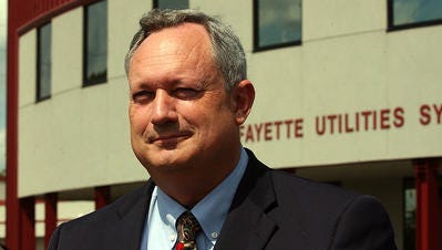 Terry Huval, Lafayette Utilities System director