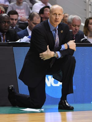 Xavier Musketeers head coach Chris Mack.