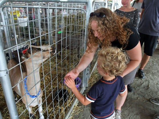 The Hunterdon County 4-H and Agriculural Fair in Lambertville.