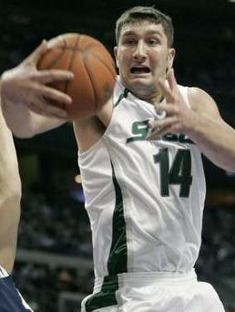 Goran Suton is the most recent Spartan to record 20 rebounds in a single game, the first since Kevin Willis in 1983.