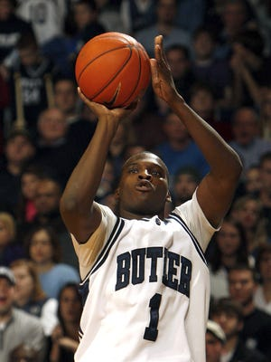 FILE -- Shelvin Mack is one the best players in Butler basketball history. On the baseball field ...