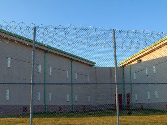 The Hinds County Detention Center in Raymond.