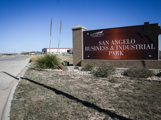The San Angelo Business and Industrial Park located