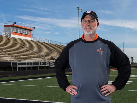 All-South Texas Coach of the Year Jason Herring