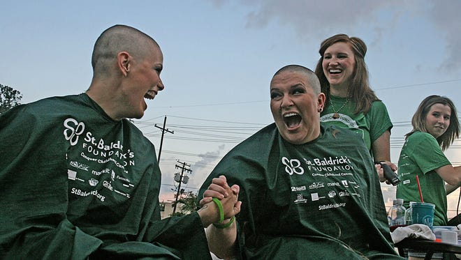 The third annual St. Baldrick's Day event will be held Oct. 1.