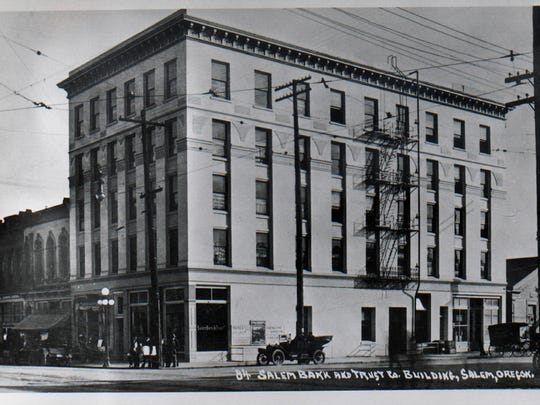 The Guardian Building was a hub for professional offices in Salem before a fire gutted the building in November 1947. The building was on the southeast corner of State and Liberty streets SE.