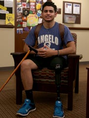 Alex Ortega, a History major at Angelo State University