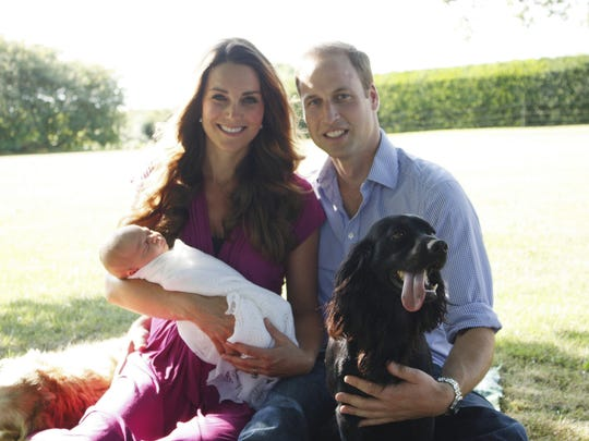 Soon after Prince George's birth in July 2013, he was