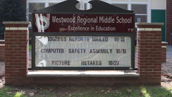 Westwood Regional Middle School.
