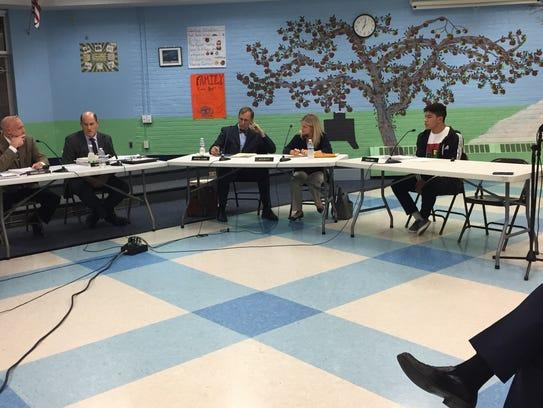 South Burlington School Board on Wed., Nov. 2, 2016