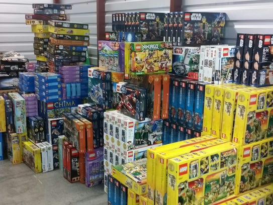 Police: $200,000 in Legos recovered, 4 people arrested