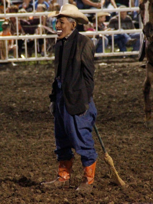 Rodeo Clown Draws Criticism For Obama Mask