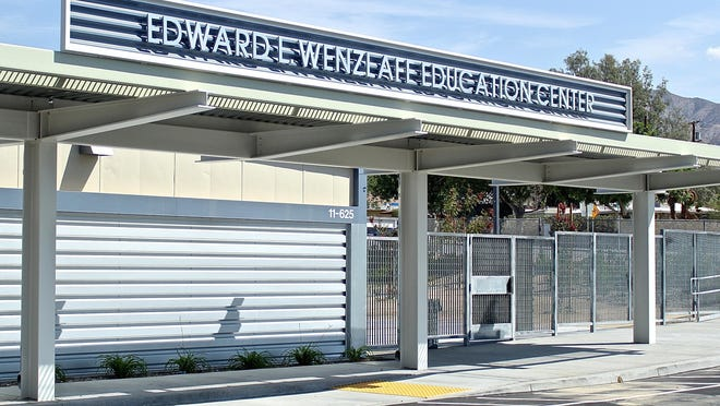 Edward Wenzlaff Education Center, formerly The Desert Hot Springs Alternative Center, moved from its storefront location to a new campus for the first day of school.
