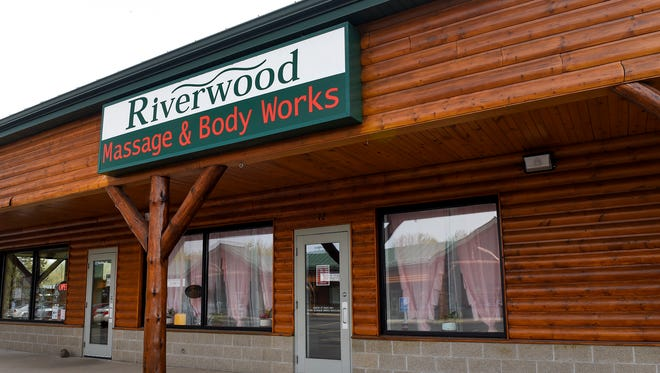 Riverwood Massage & Body Works is shown Friday, May 11, in the Riverwood Mall in Waite Park.