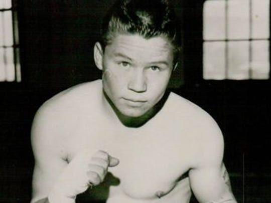 Henry Gutierrez in the prime of his professional boxing