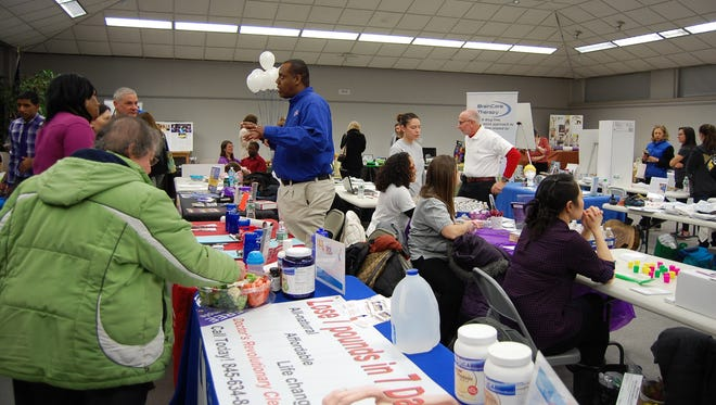 The Nanuet Chamber of Commerce's annual Health & Fitness Fair
