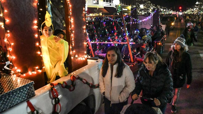 Kansas Children's Service League was one of the organizations participating in the Burtis Motor Christmas Parade in 2019 on Main Street in downtown Garden City. With the COVID-19 pandemic, that parade has been canceled, but a reverse parade will be held Dec. 19 at the Finney County Fairgrounds exhibition parking lot.