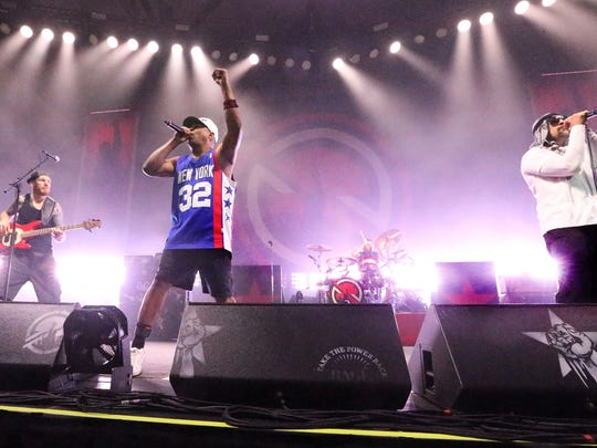 Chuck D. (center) and Prophets of Rage will perform at the Stone Pony on Sept. 9.
