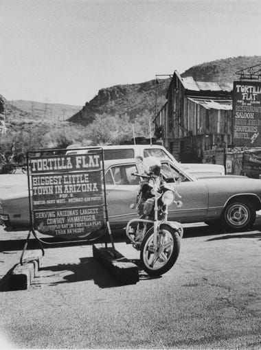 Tortilla Flat was a popular stop for motorists in 1978, and still is today.