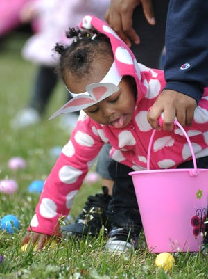 Easter weekend features egg hunts and brunches.