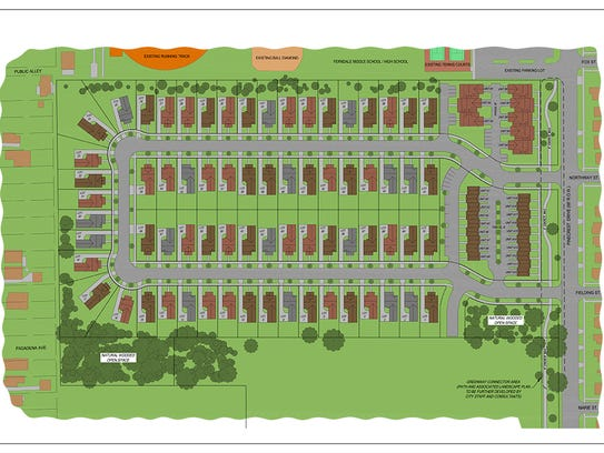 This is the latest plan submitted for the proposed