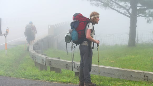 "Hiking the Appalachian Trail, Eric ""Captain Red"" Hoffman"