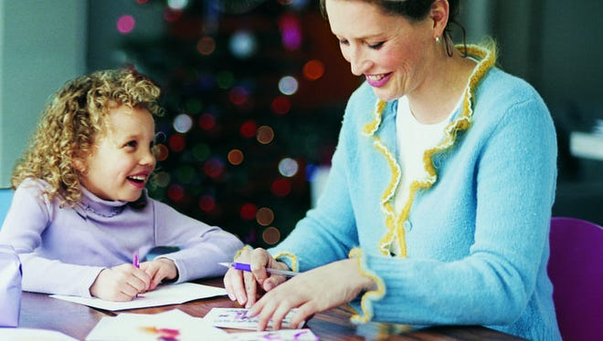Let a budding artist express thanks through pictures.