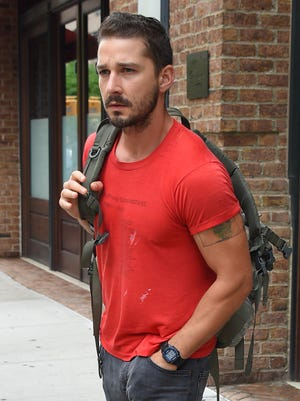 Shia LaBeouf, seen July 24, 2014, in New York City.