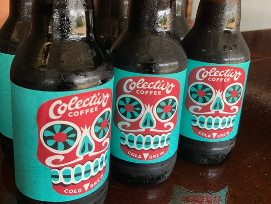 Cold brew coffee can be had in bottles at Colectivo
