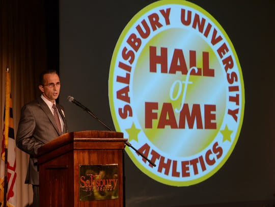 During his time as SU athletic director, Michael Vienna