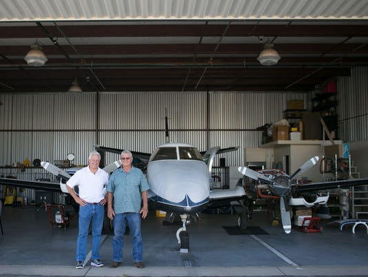 Glendale hangar battle